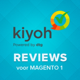 Kiyoh reviews module for Magento 1.4+ (Up to 1.9)